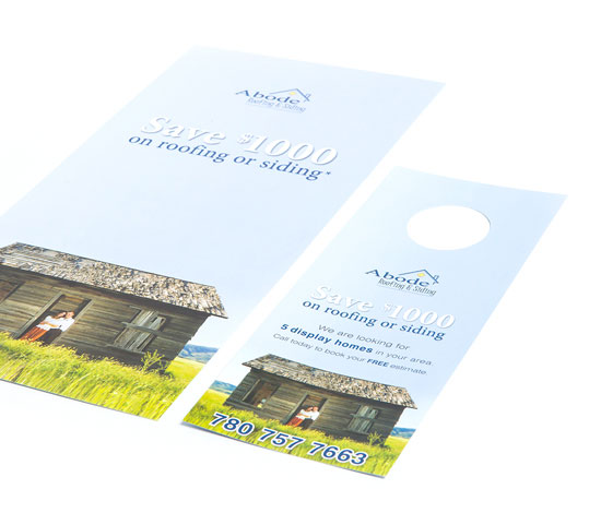 Abode Roofing & Siding Direct Mail Advertising