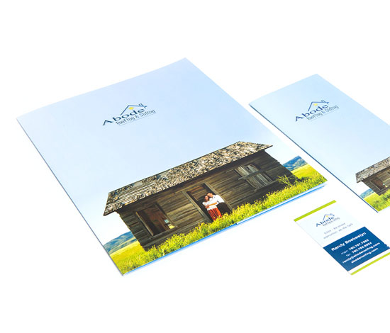 Abode Roofing & Siding Identity Package