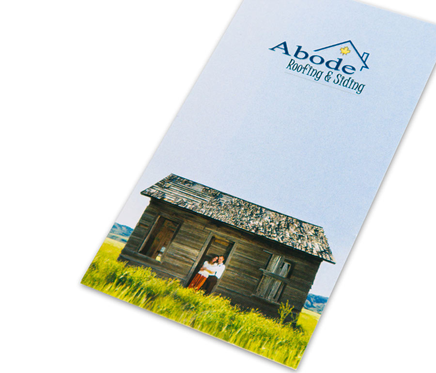 Abode Roofing & Siding Business Card