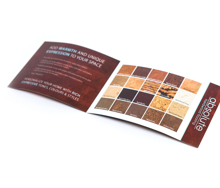 Absolute Hardwood Cork Product Brochure