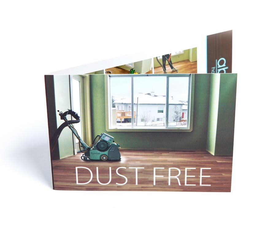 Absolute Hardwood Dust Free Product Brochure