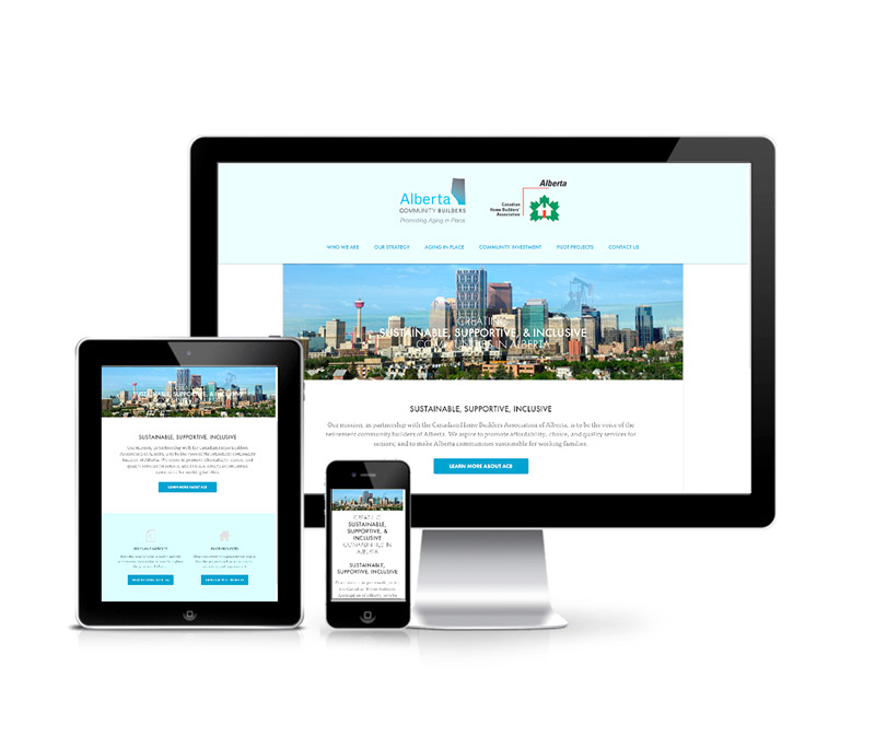 Alberta Community Builders Corporate Website