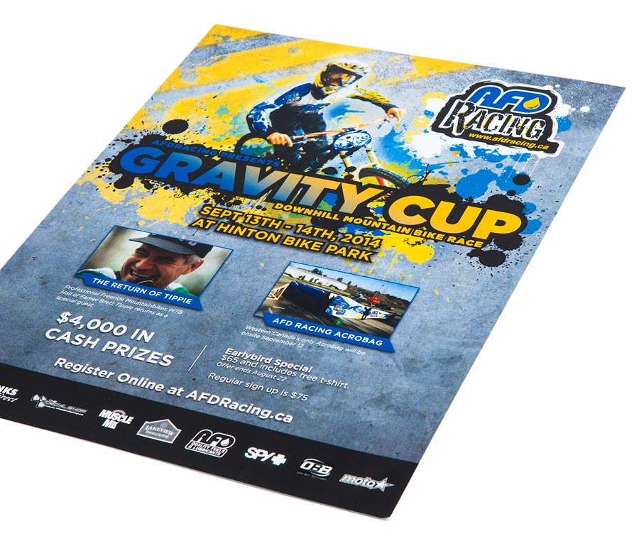 AFD Petroleum Gravity Cup Poster