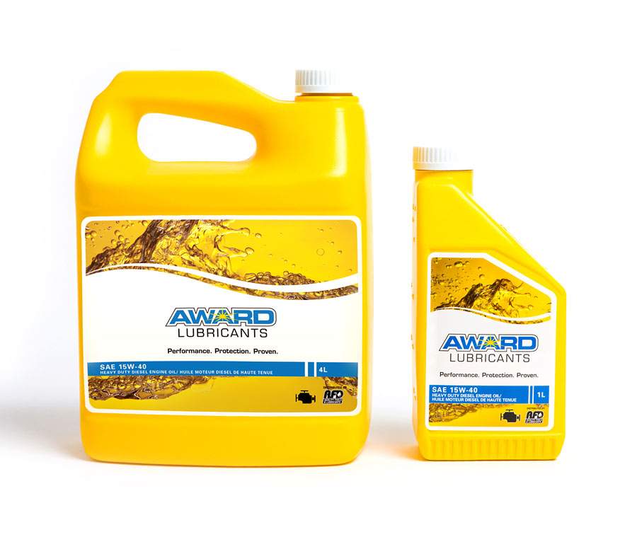 AFD Petroleum Award Lubricant Packaging