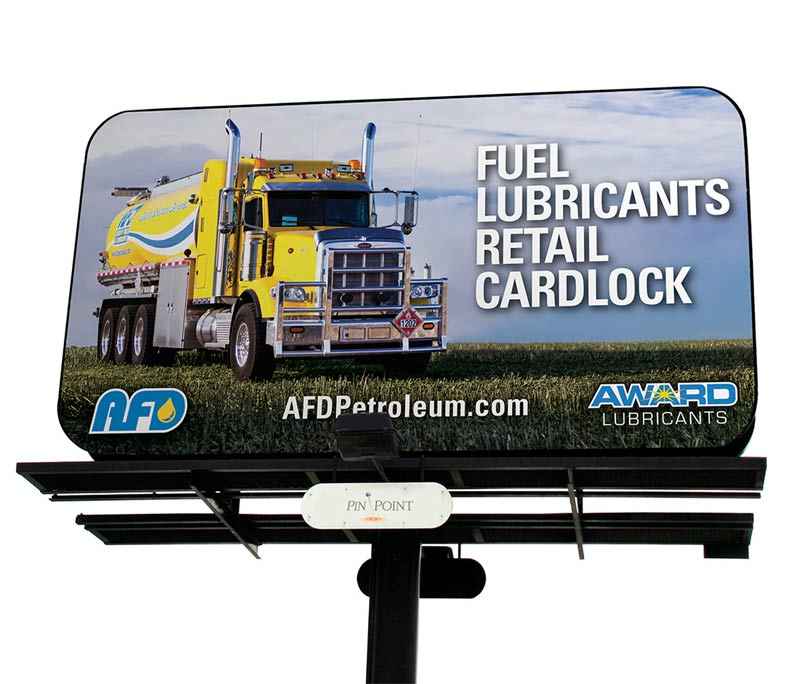 AFD Petroleum Large Format Advertising