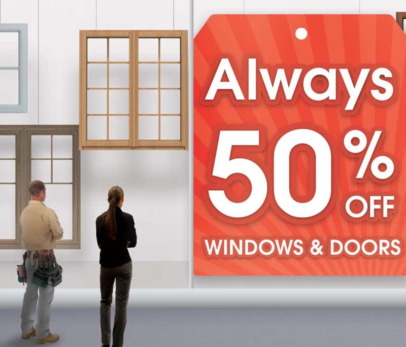 Capitall Exteriors Clearance Centre 50% Off Campaign