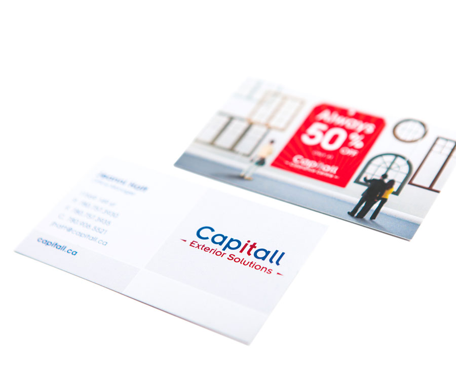 Capitall Exteriors Business Card