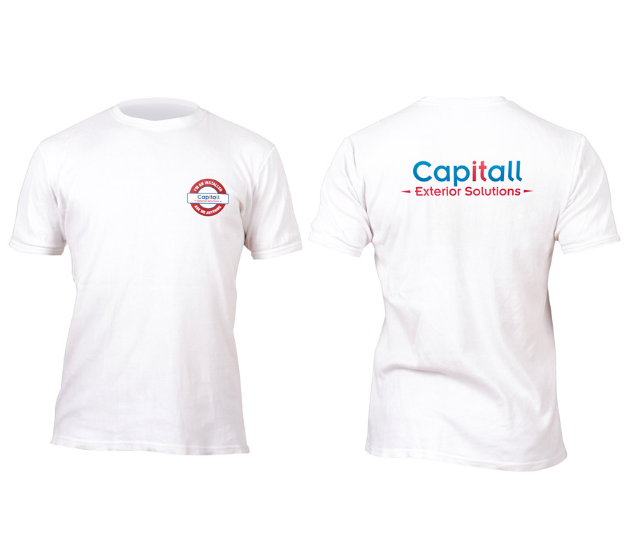 Capitall Exteriors T-Shirt Design