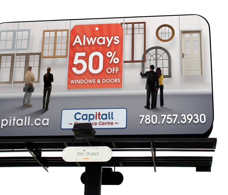 Capitall Exteriors Outdoor & In-Store Advertising
