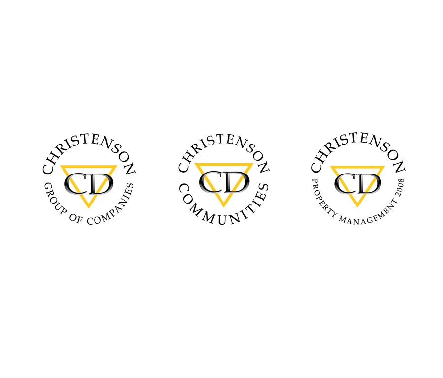 Christenson Developments Logo Variations