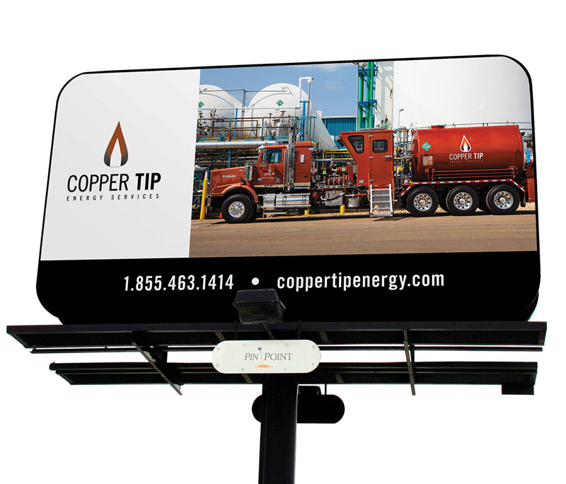 Copper Tip Energy Trade Show & Outdoor Media