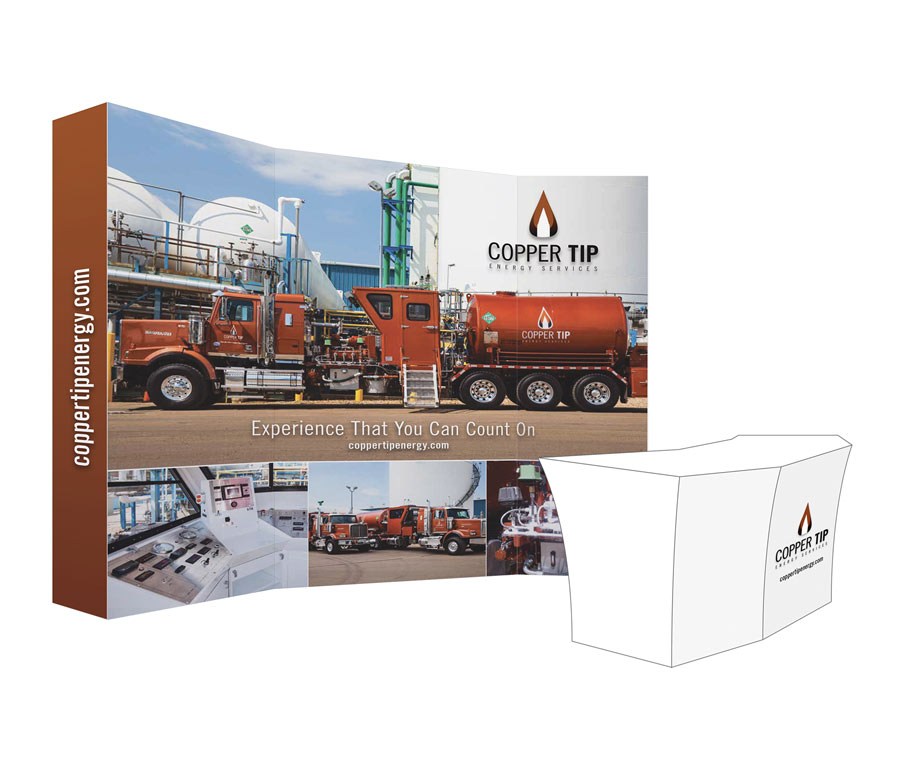 Copper Tip Energy Presentation Booth