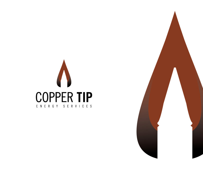 Copper Tip Energy Corporate Logo Design