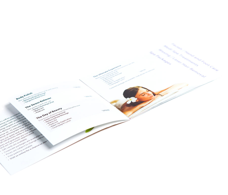 Focus On You Services Brochure