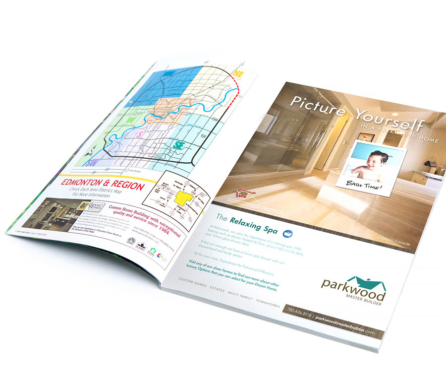 Parkwood Master Builder New Home Guide Ad