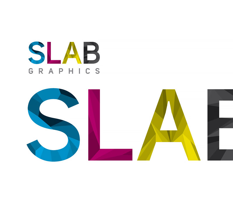 SLAB Graphics Company Logo Design