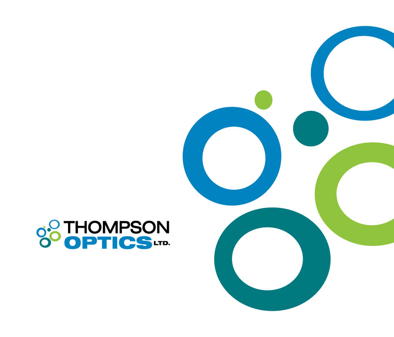 Thompson Optics Company Logo Design