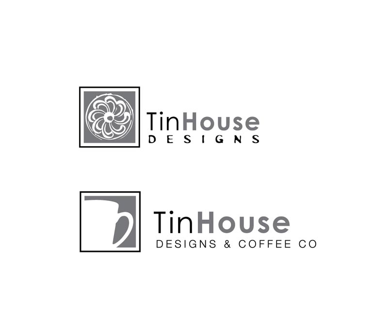 TinHouse Designs & Coffee Co. Logos