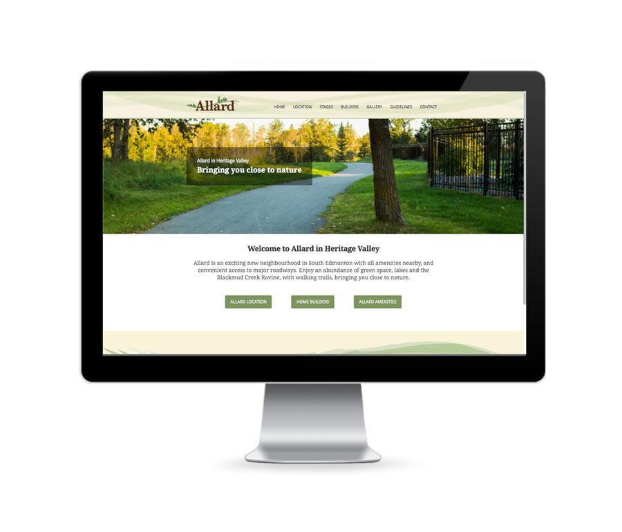 United Communities Allard Home Page